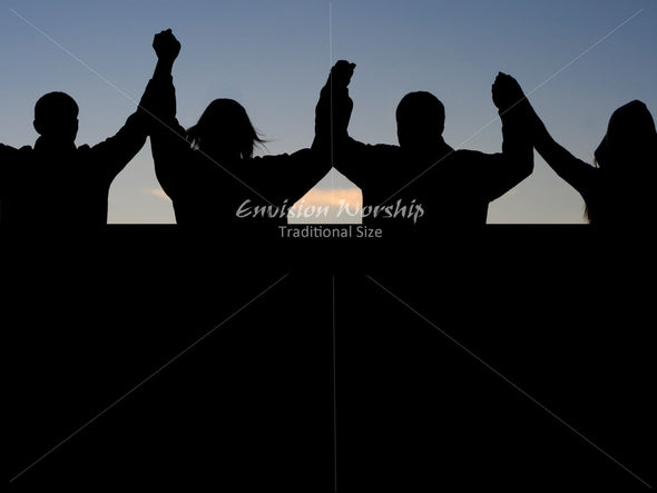 Worship image, Christian Powerpoint background, church community image