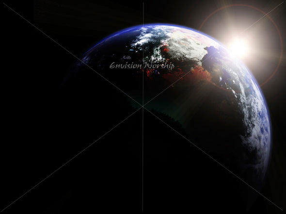 earth image, worship image, powerpoint image