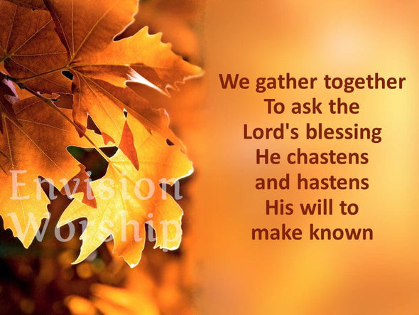 We Gather Together hymn