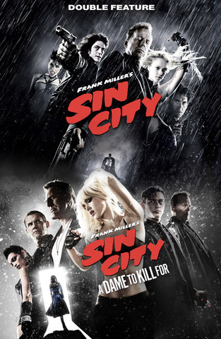 Sin City 1 & 2 - Double Feature