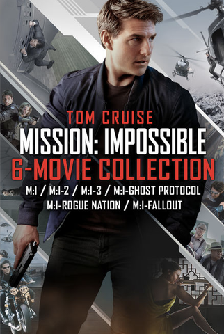 Mission Impossible 6 Movie Collection (UHD/4K)