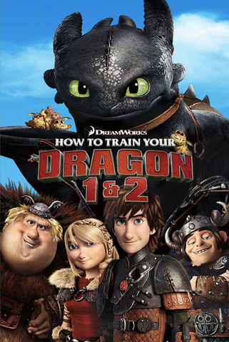How to Train Your Dragon 1 and 2 (UHD/4K)