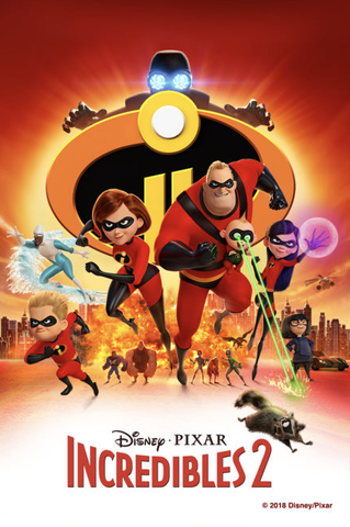Incredibles 2 (UHD/4K)