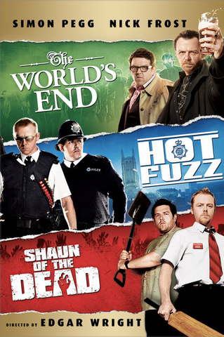 The World's End, Hot Fuzz, Shaun of the Dead (Bundle) (UHD/4K)