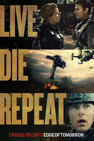 Live, Die, Repeat: Edge of Tomorrow