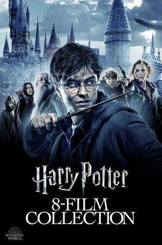 Harry Potter Complete 8 Film Collection (UHD/4K)