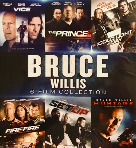 Bruce Willis 6 Film Collection