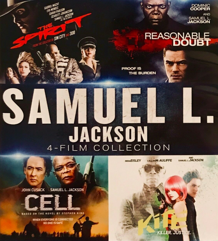 Samuel L. Jackson 4 Film Collection