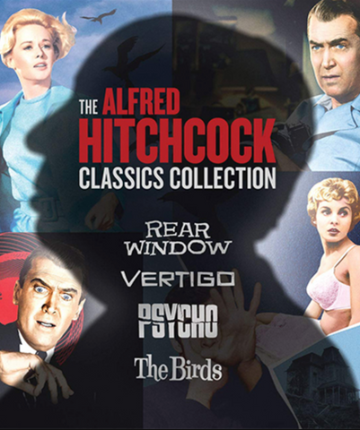 Alfred Hitchcock 4 Film Collection (UHD/4K)