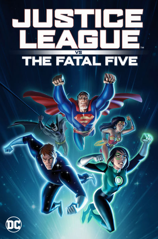 Justice League vs the Fatal Five (UHD/4K)