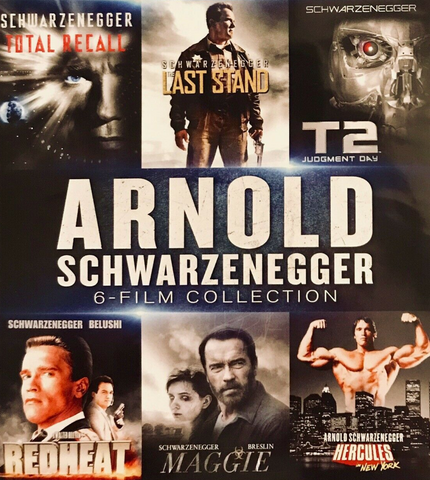 Arnold Schwarzenegger 6 Film Collection