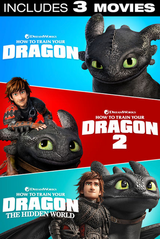 How to Train Your Dragon Trilogy