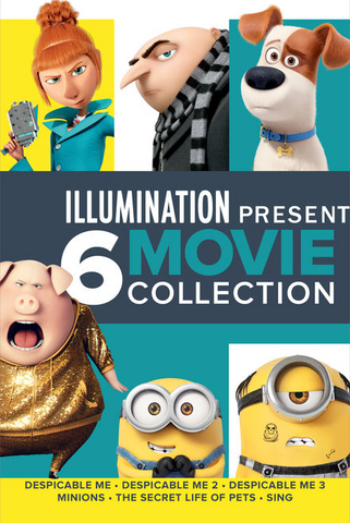Illumination 6-Movie Collection
