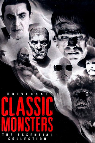 Universal Classic Monsters 6 Film Collection