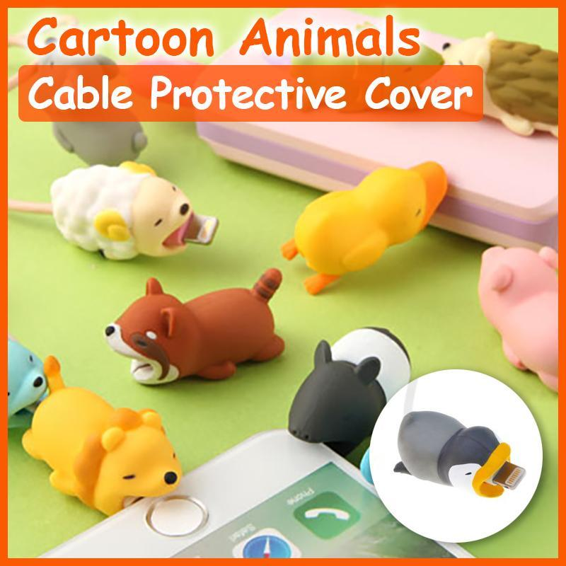 Cartoon Animal Cable Protective Cover