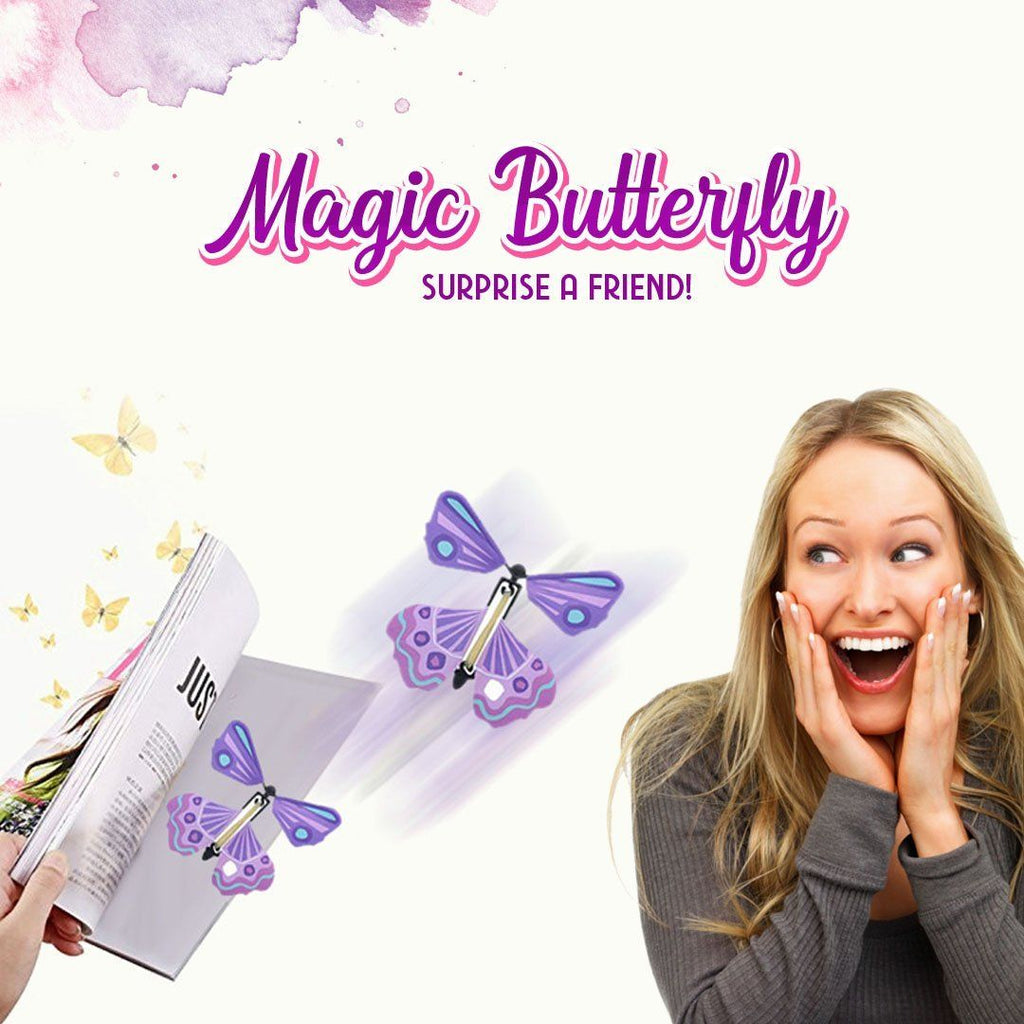 Magic Flying Butterfly Toy - 5pcs/10pcs/20pcs