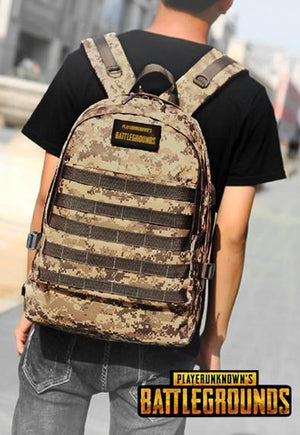PUBG Real Life USB Port Backpack