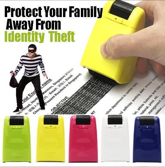 Privacy Protection Roller Stamp