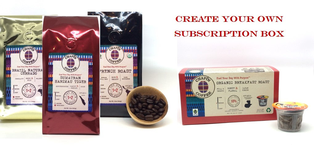 Chapín Coffee Subscriptions