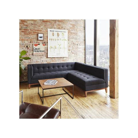 NEW products from Gus Modern: Gus Atwood Bi-Sectional Sofa