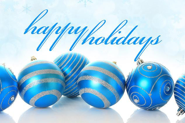 Whishing You Happy Holidays and a Great New Year!!
