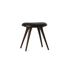 Mater Low Stool - Dark Wood