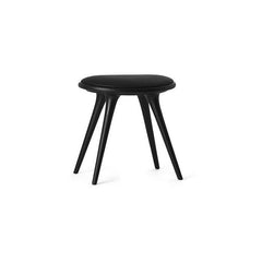 Mater Low Stool - Black Beechwood