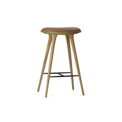 Mater Bar Stool - Camel Leather