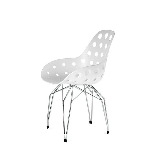 Kubikoff Diamond Dimple Hole Chair