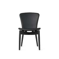 Mater Shell Dining Chair  - Black  Oak