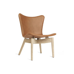 Mater Shell Lounge Chair  - Beige Oak