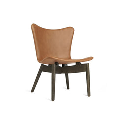 Mater Shell Lounge Chair  - Brown Oak