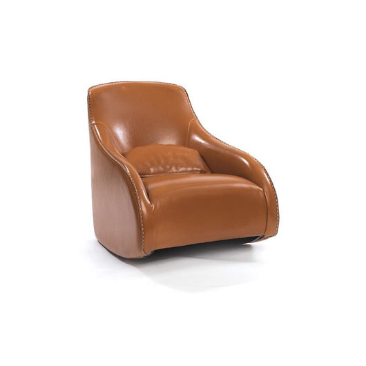 Contemporary Style Leather Chair