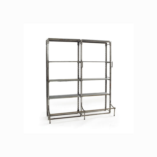 Double Warehouse Shelving