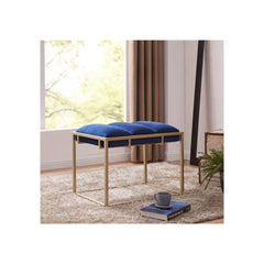 Brooklyn Velvet Fabric Ottoman