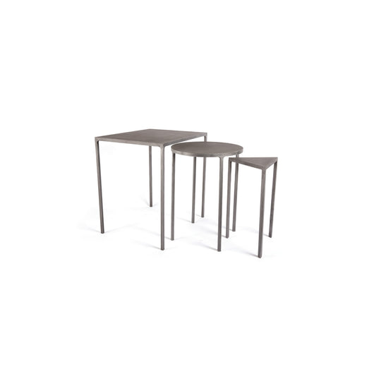 Set of Three Cemento Tables