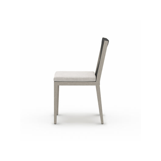 Solano Sherwood Outdoor Dining  Chair - Weathered Grey