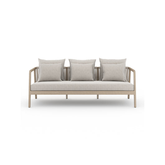 Solano Numa Outdoor Sofa - Washed Brown