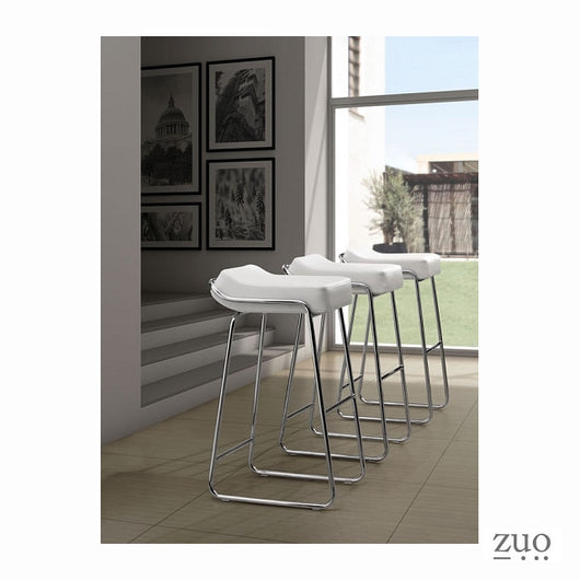Zuo Wedge Bar Chair  - Set of 2
