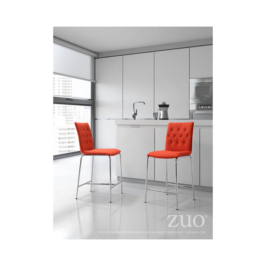 Zuo Uppsala Counter Chair  - set of 2