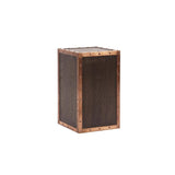 Howard Elliott Walnut Stained Pedestal - Small