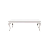 Howard Elliott Stainless Steel Coffee Table