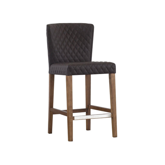 Albie Tufted Counter Stool  - Set of 2