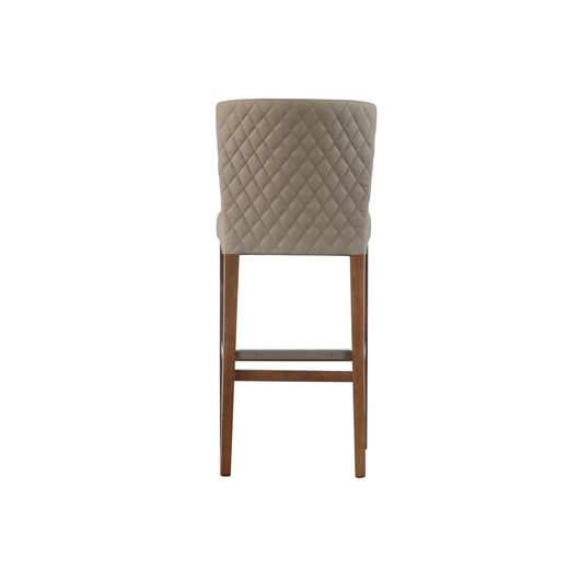 Albie Tufted Bar Stool  - Set of 2