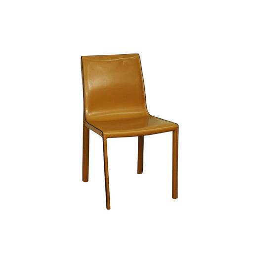 Gervin Recycled Leather Dining Chair - Set of 2