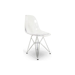 Allen Transparent Dining Chair - Set of 4