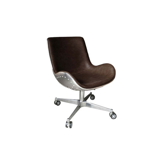 Abner PU Swivel Office Chair