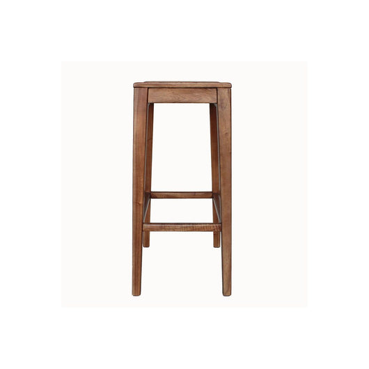 Elmo Wooden Bar Stool,