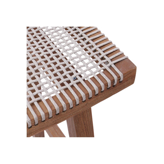 Sinclair Rope Backless Counter Stool