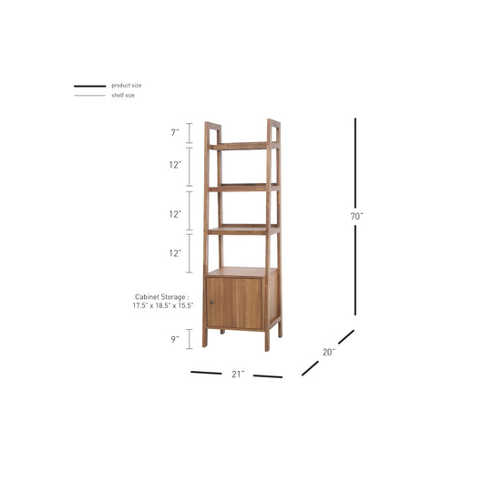 Henley KD Wall Bookcase